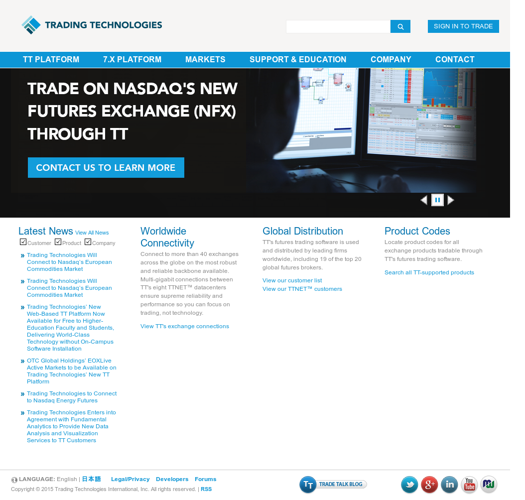 Trading Technologies Competitors, Revenue and Employees