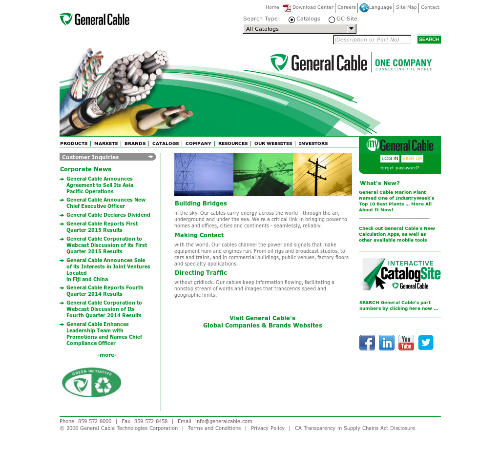 General Cable Competitors, Revenue and Employees - Owler Company Profile