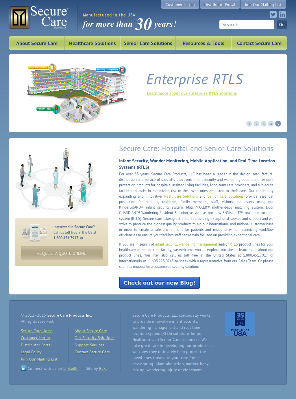 Secure Care Products Competitors Revenue And Employees Owler