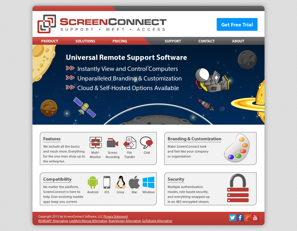 ScreenConnect Competitors, Revenue and Employees - Owler
