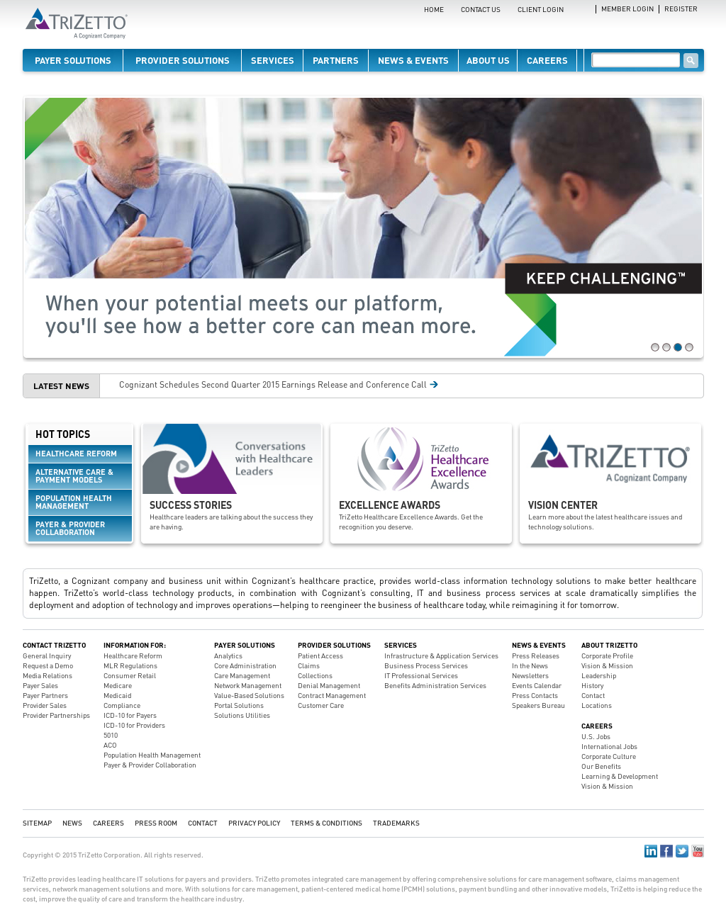 Trizetto competitors revenue and employees company profile on owler trizetto website history 1betcityfo Gallery