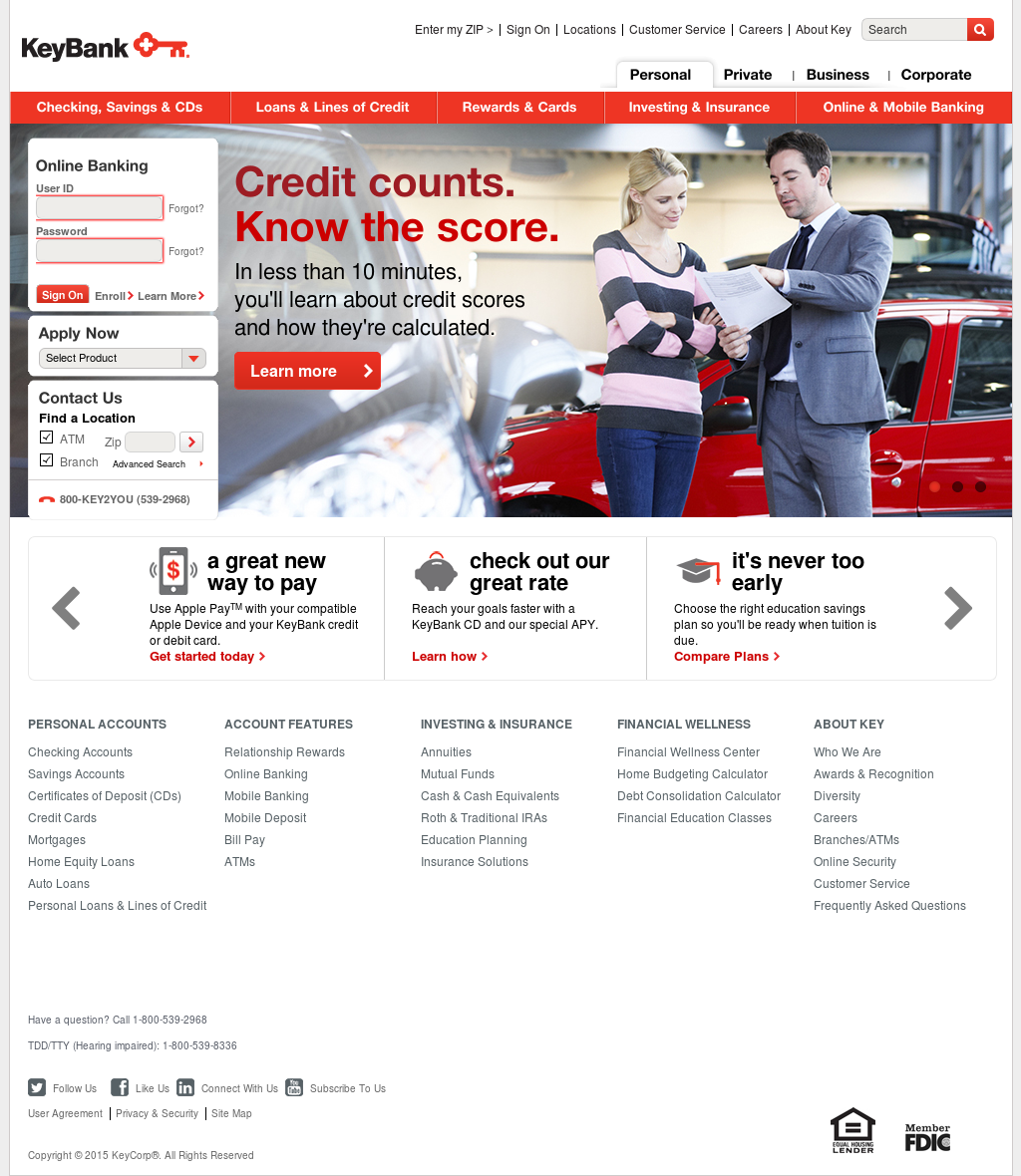 Keybank competitors revenue and employees owler company profile reheart Image collections