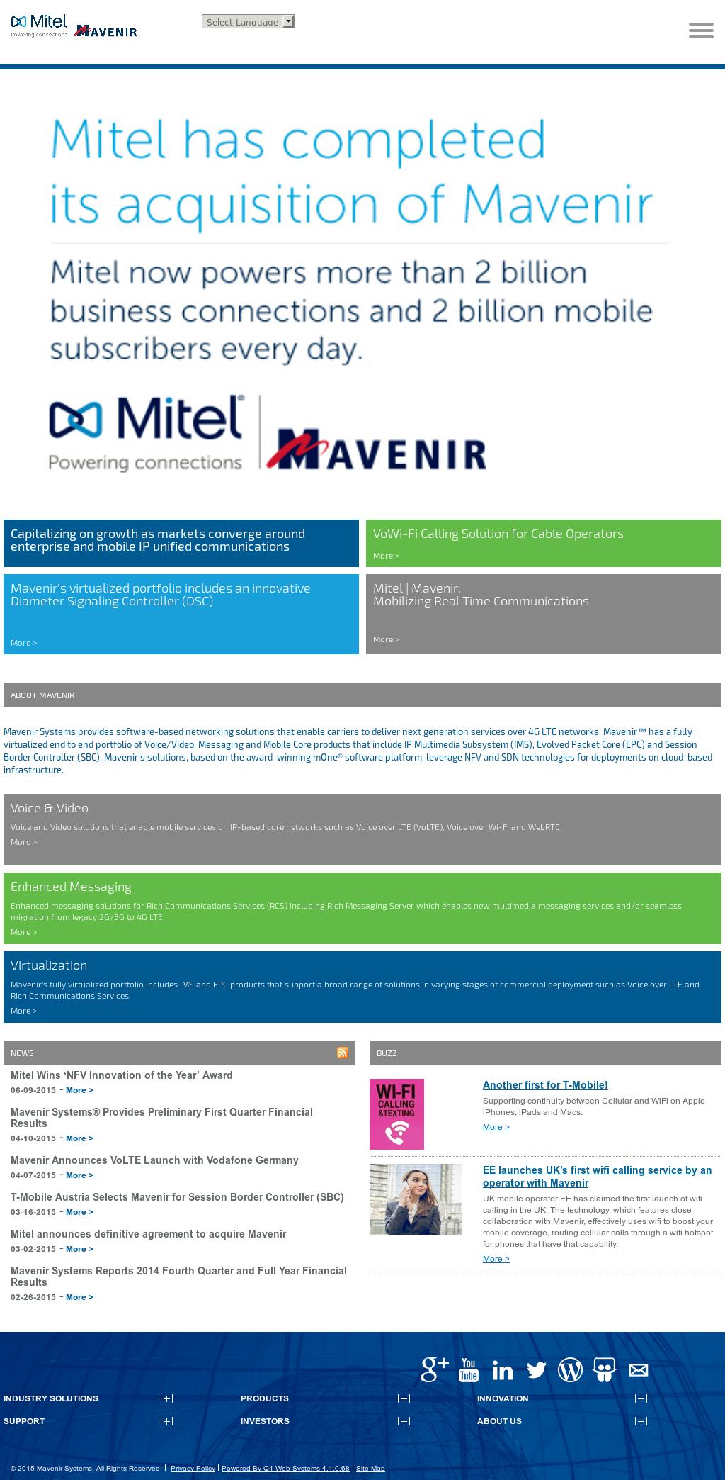 Mavenir Competitors, Revenue and Employees - Owler Company Profile