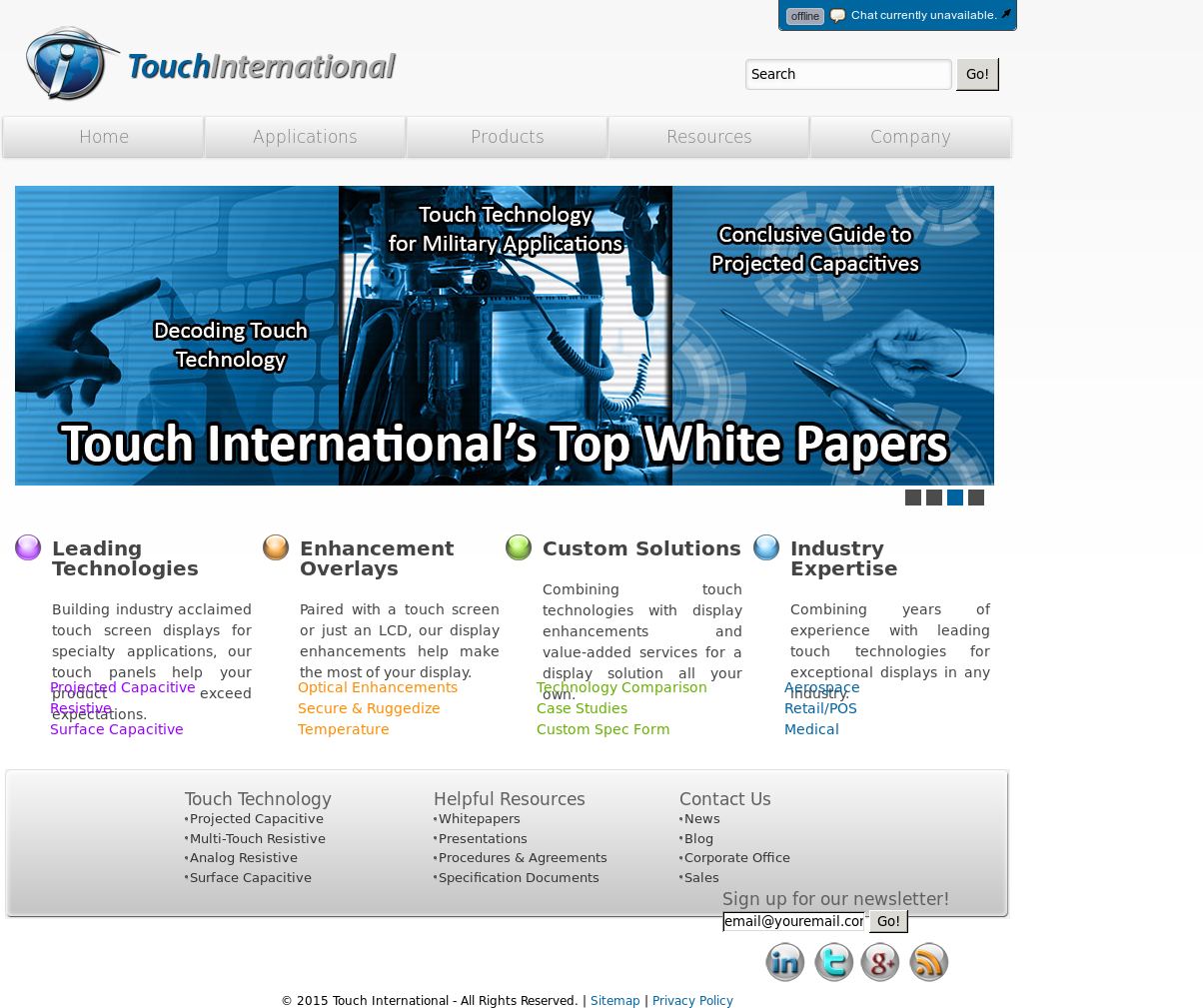 touch international company profile