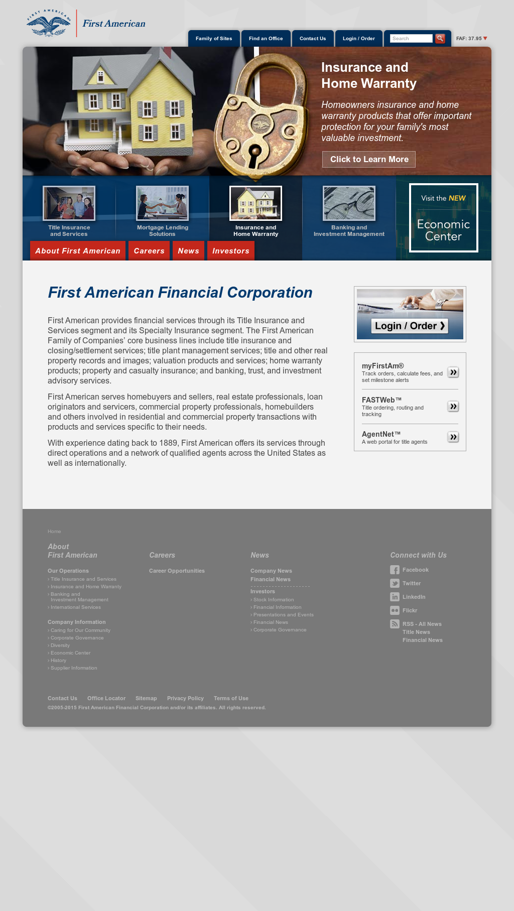 First American Home Warranty Brochure 2020.First American Competitors Revenue And Employees Owler