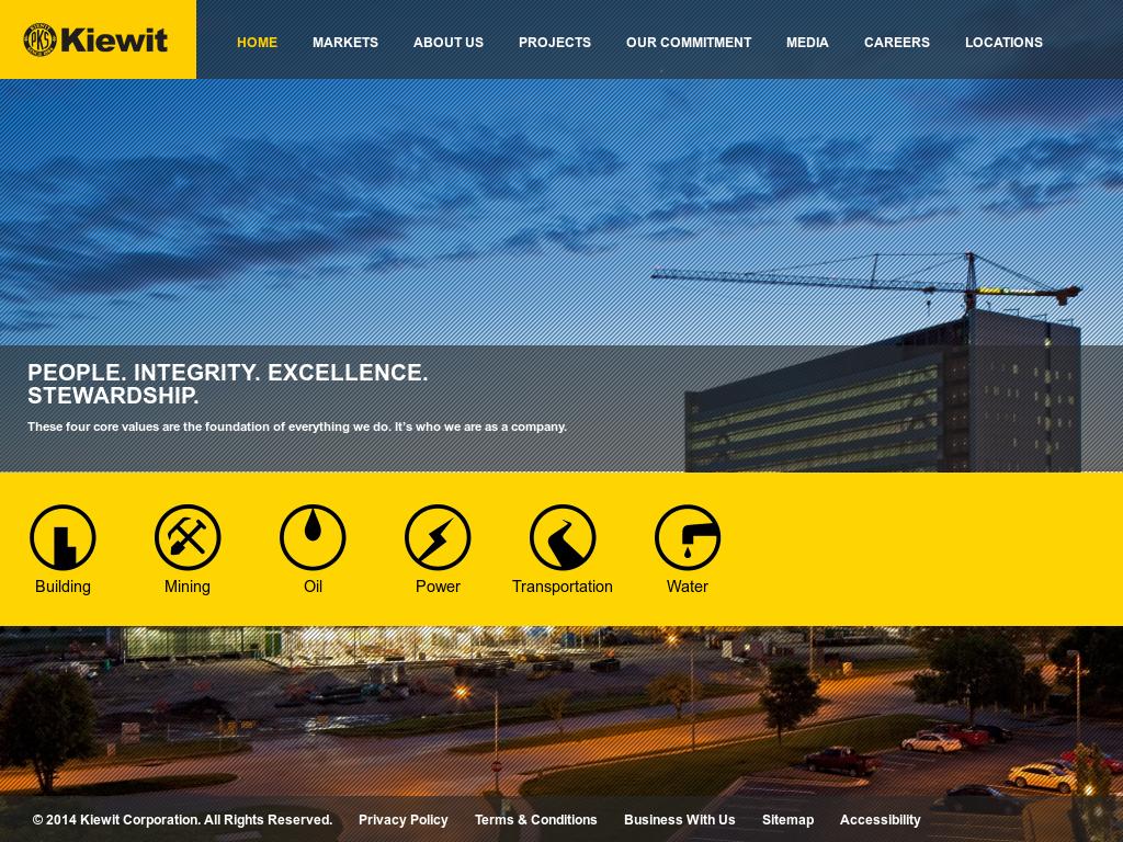 Owler Reports - Press Release: Kiewit : Kiewit Technology Inc