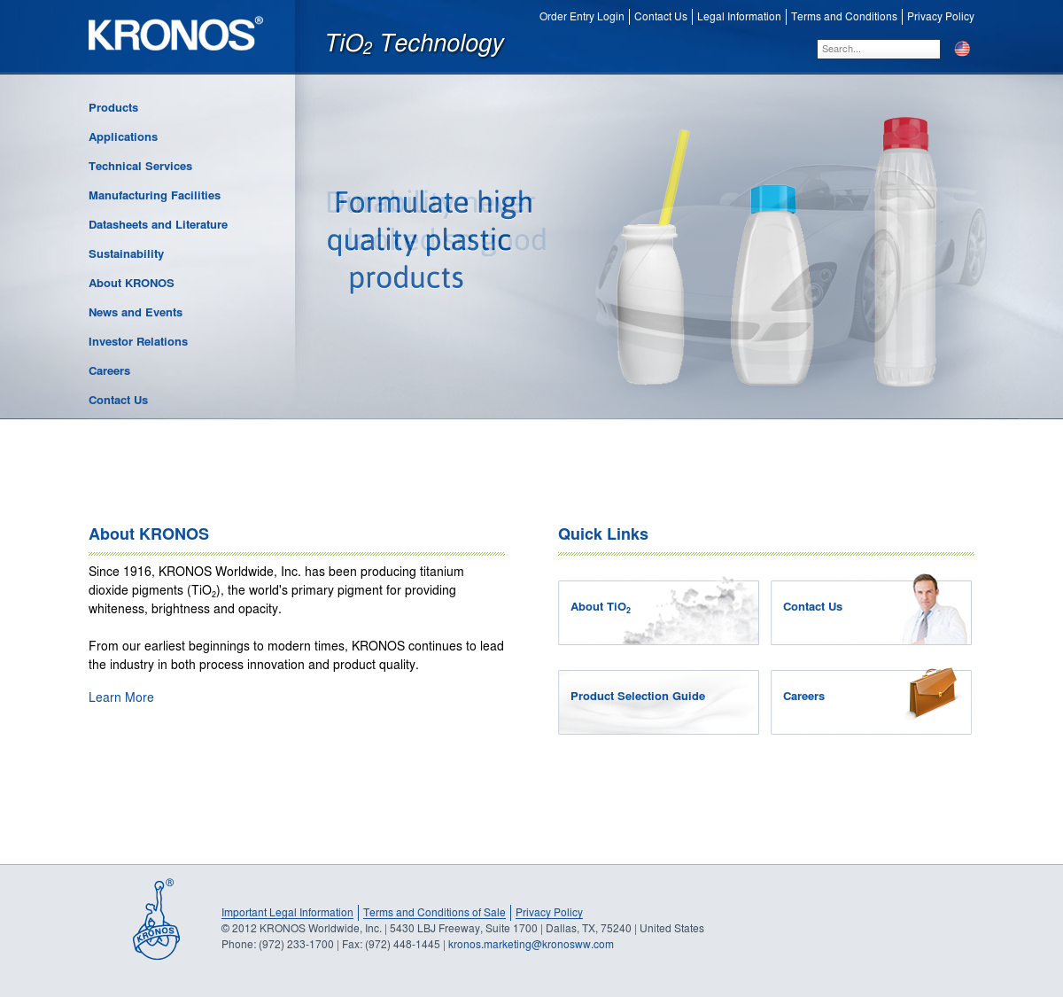 Kronos Worldwide Competitors, Revenue and Employees - Owler