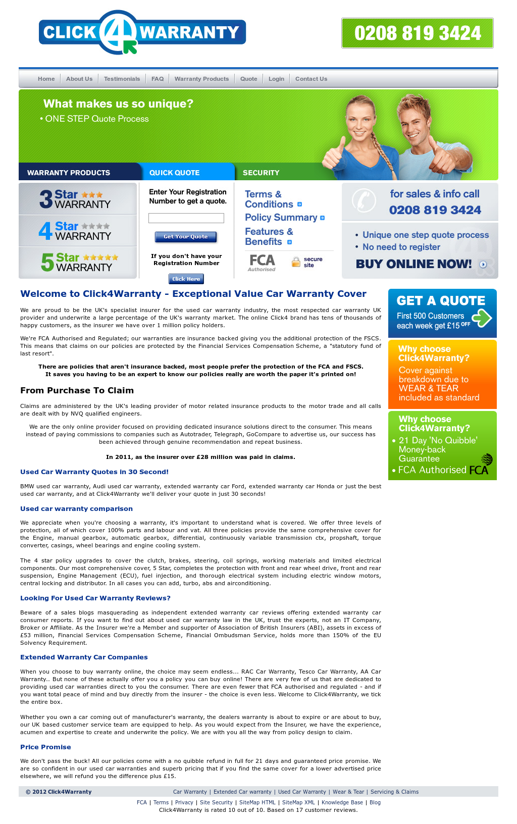 click4warranty competitors revenue and employees owler company