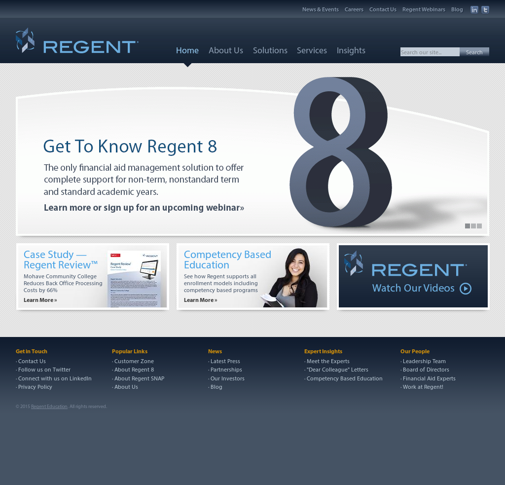 Regent Education Competitors, Revenue and Employees - Owler