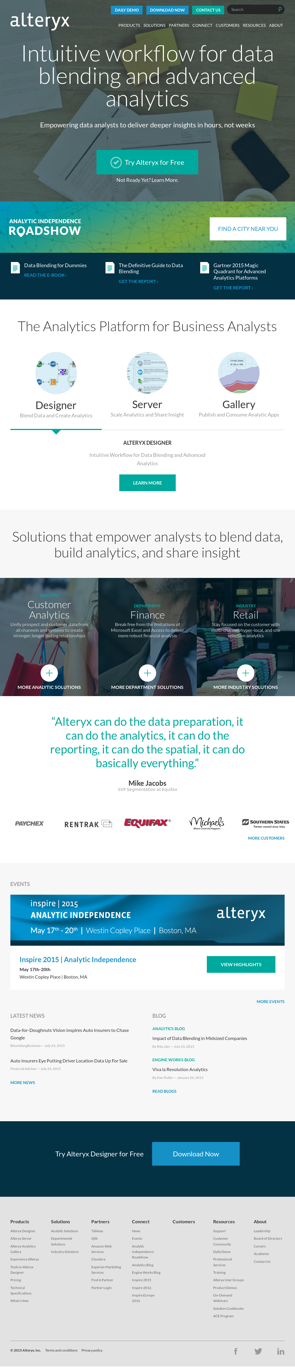 Alteryx Competitors, Revenue and Employees - Owler Company Profile