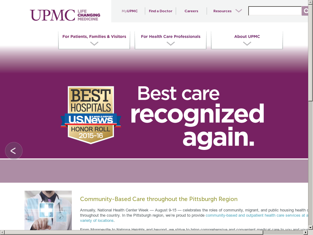 UPMC Competitors, Revenue and Employees - Owler Company Profile