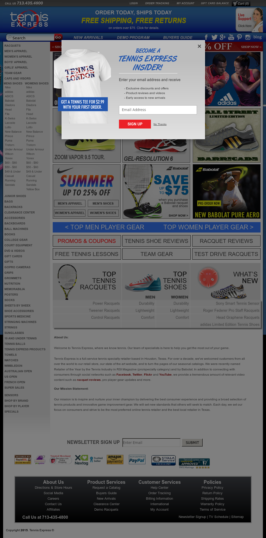 Tennis Express Competitors Revenue And Employees Owler Company