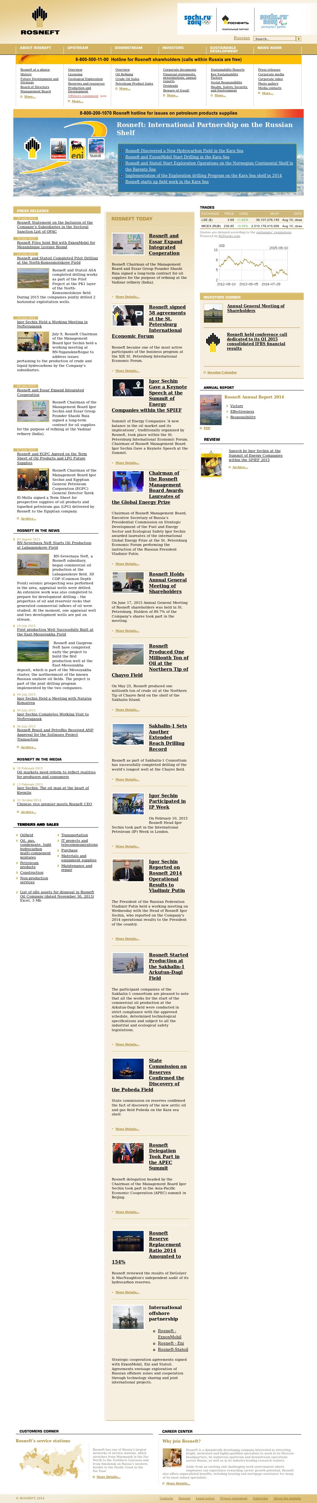 Oil Rosneft: customer reviews 66