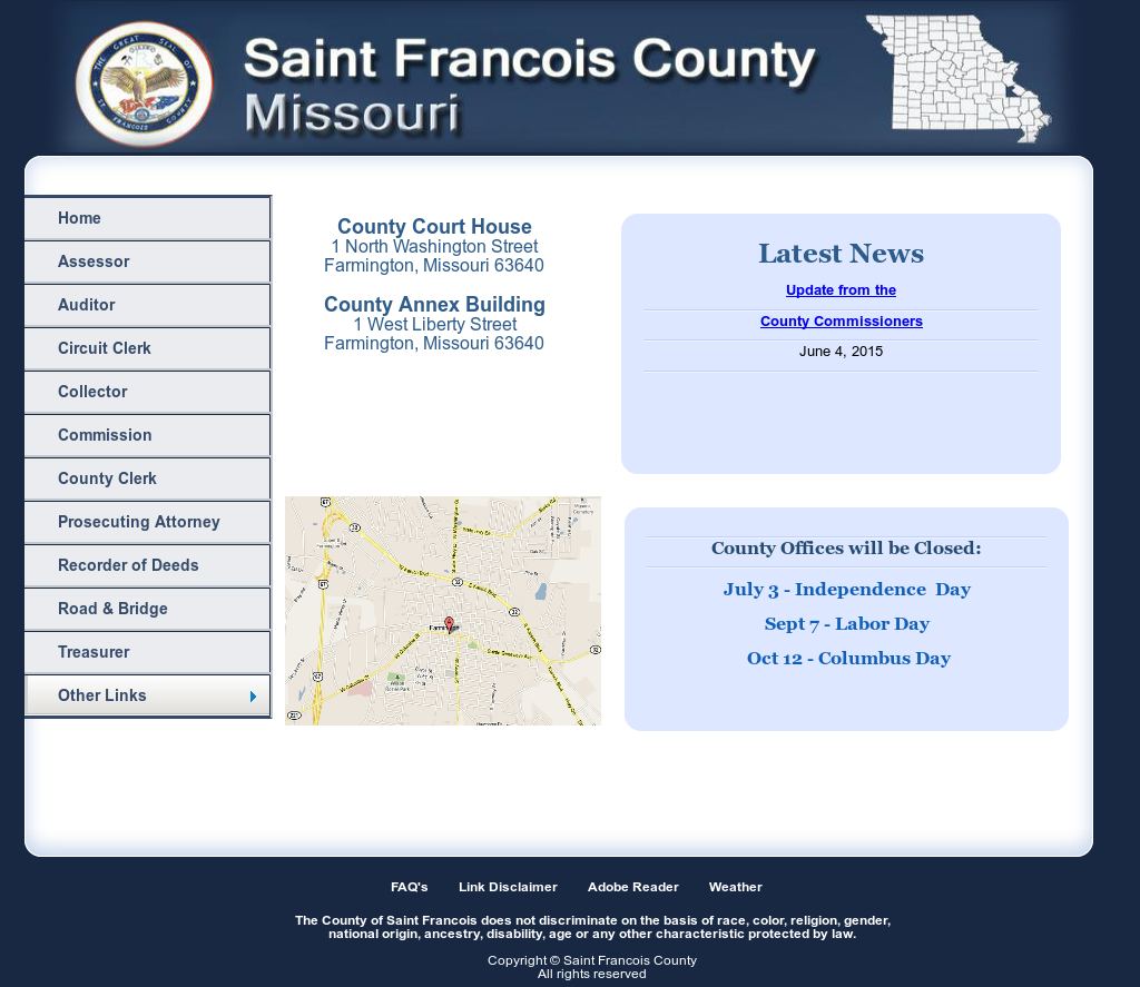 Saint Francois County Competitors, Revenue and Employees