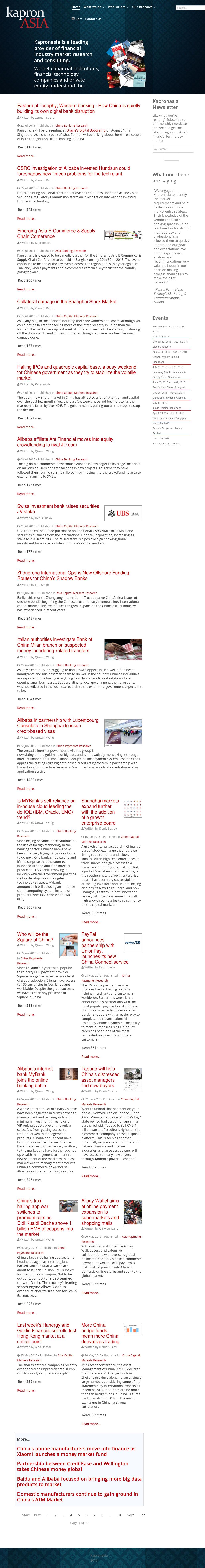 Kapronasia Competitors, Revenue and Employees - Owler