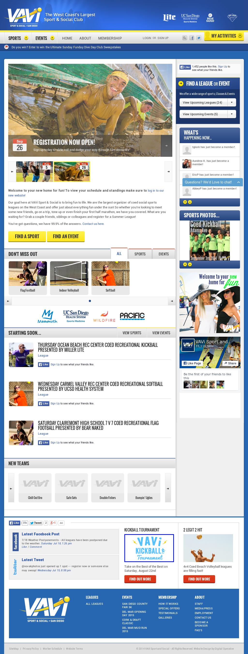 VAVi Sport & Social Club Competitors, Revenue and Employees