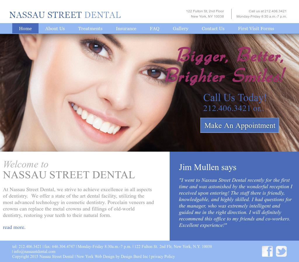 Nassau Street Dental Competitors, Revenue and Employees - Owler