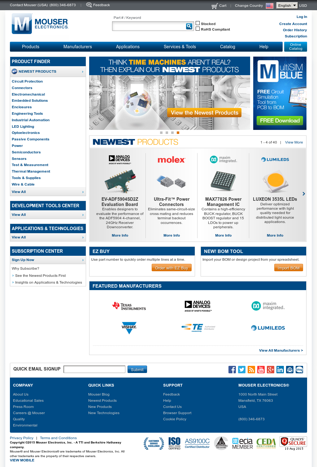 Mouser competitors revenue and employees owler company profile fandeluxe Image collections