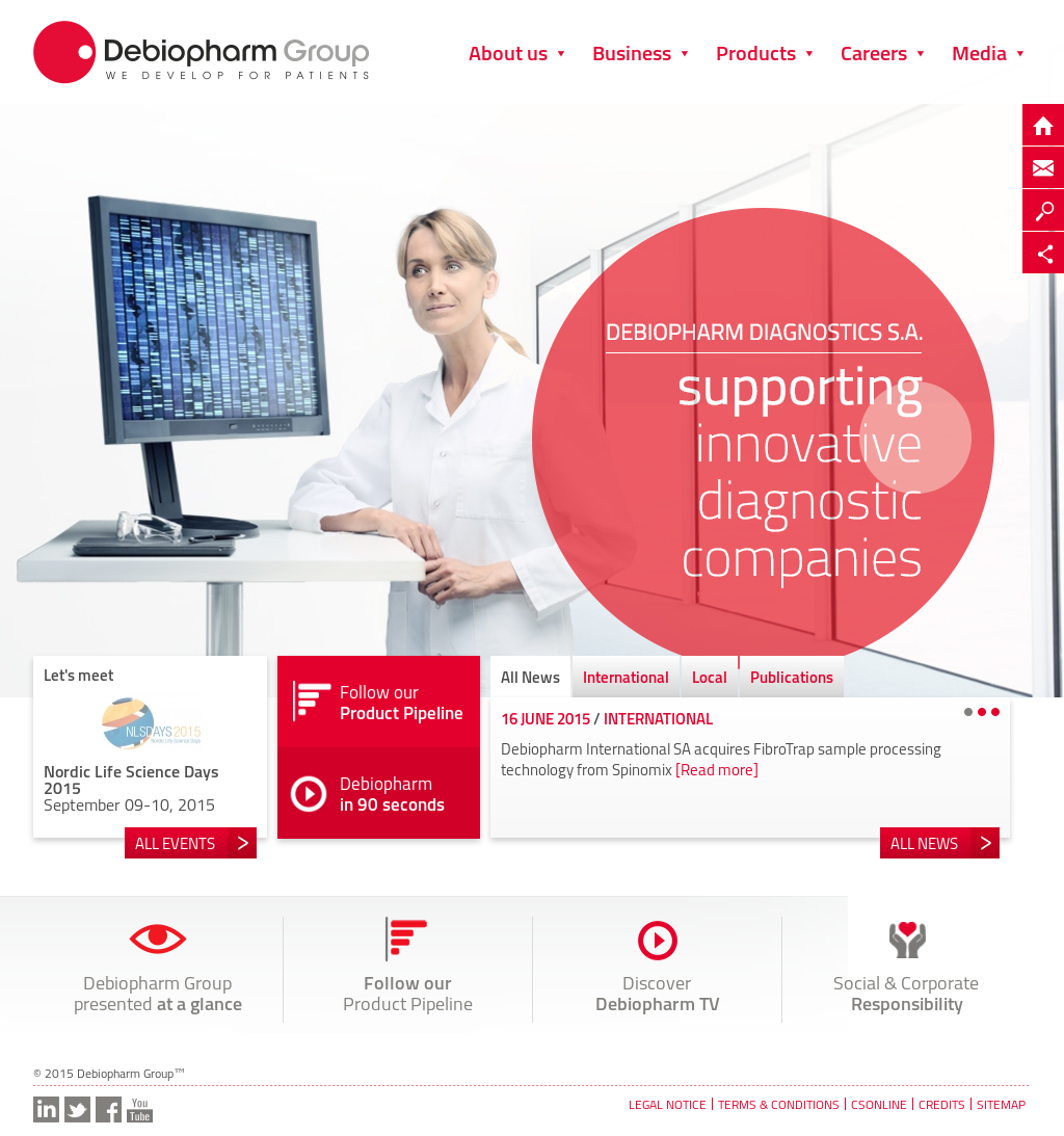 Debiopharm Competitors, Revenue and Employees - Company