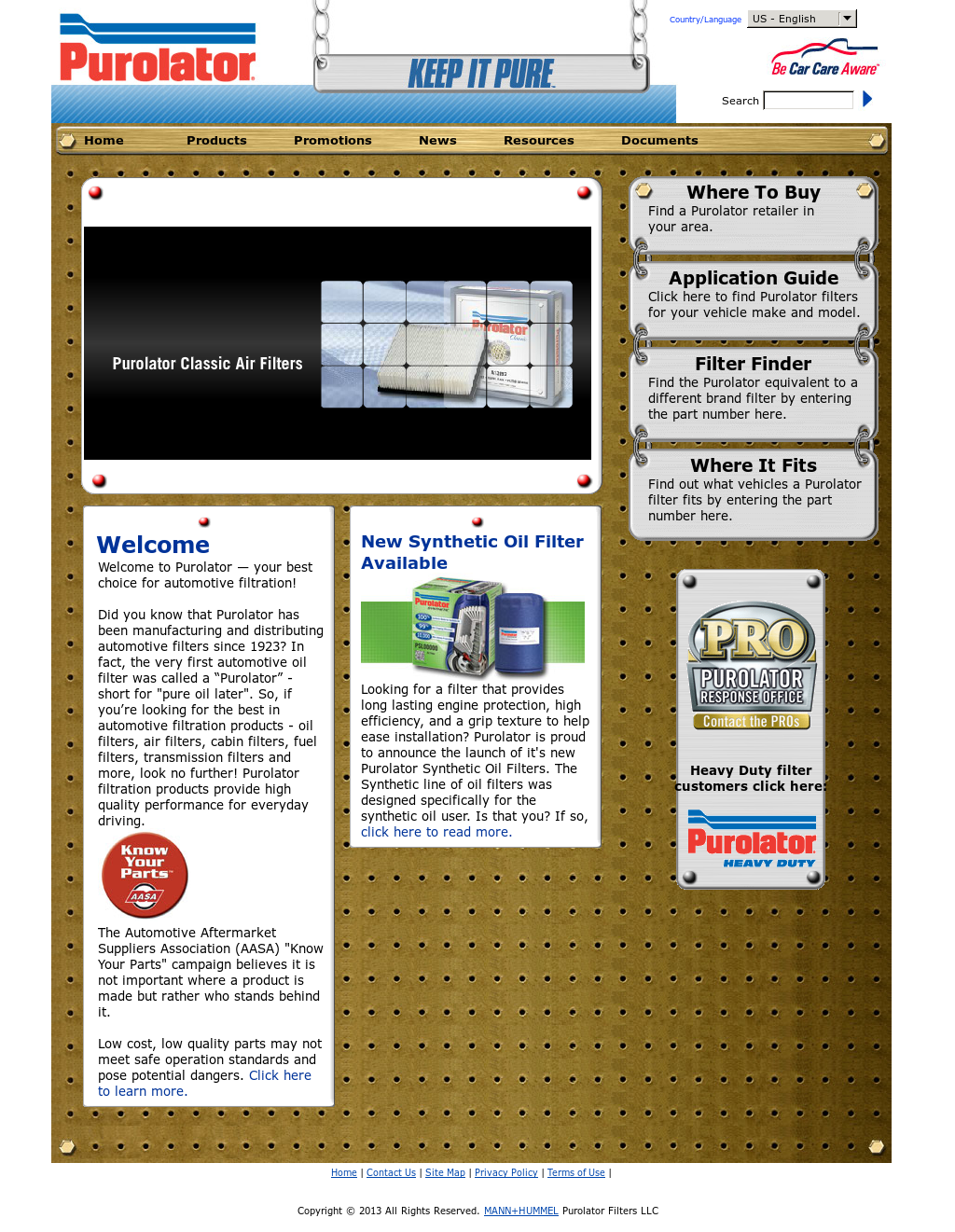 Purolator Filters Competitors Revenue And Employees Owler Company Fuel Profile
