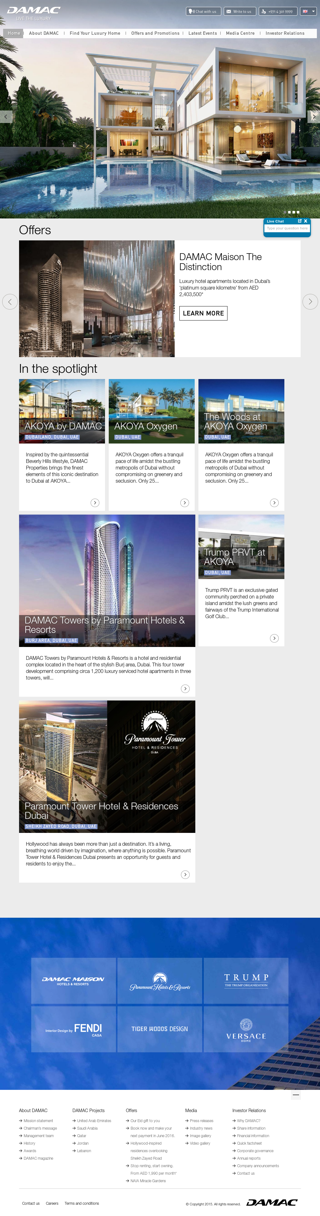 DAMAC Competitors, Revenue and Employees - Owler Company Profile