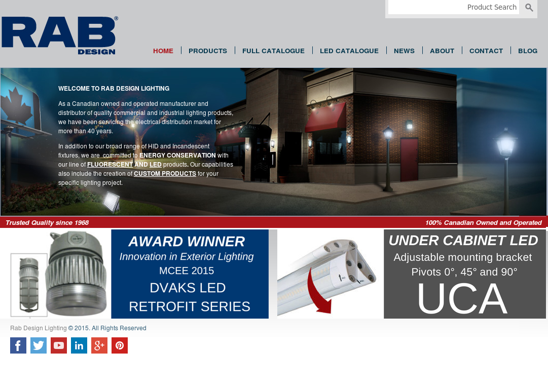 Rab Design Lighting Compeors Revenue And Employees