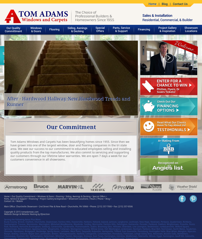 tom adams windows tom adams windows and carpets competitors revenue and employees owler company profile