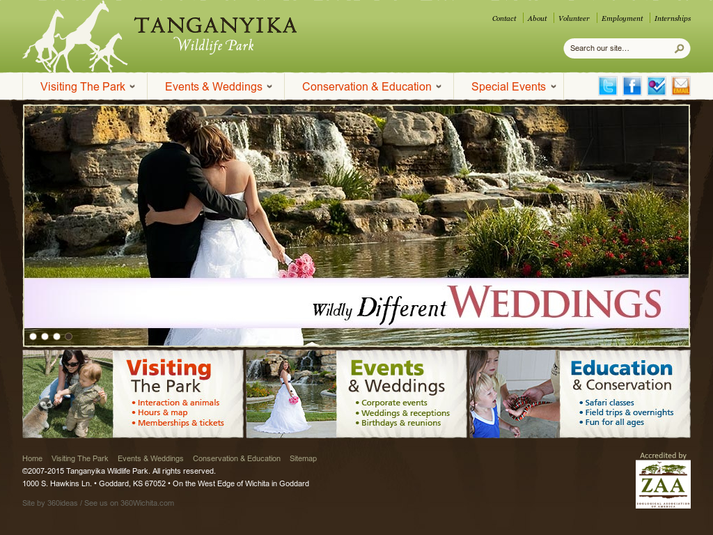 Tanganyika Wildlife Park  Competitors, Revenue and Employees - Owler
