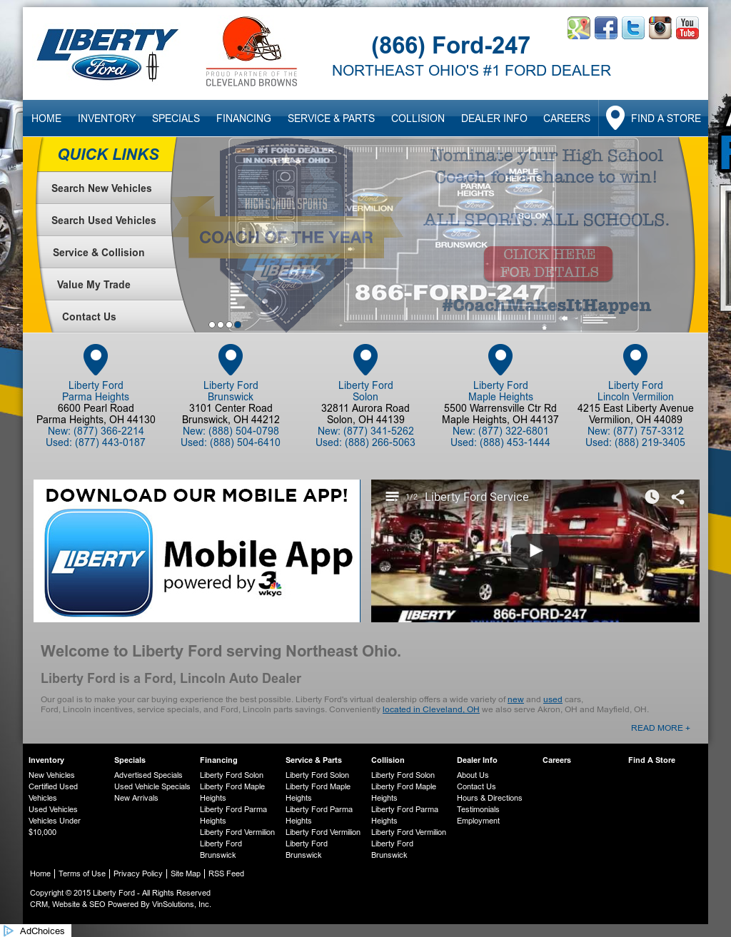 Liberty Ford Solon >> Liberty Auto Group Competitors Revenue And Employees Owler