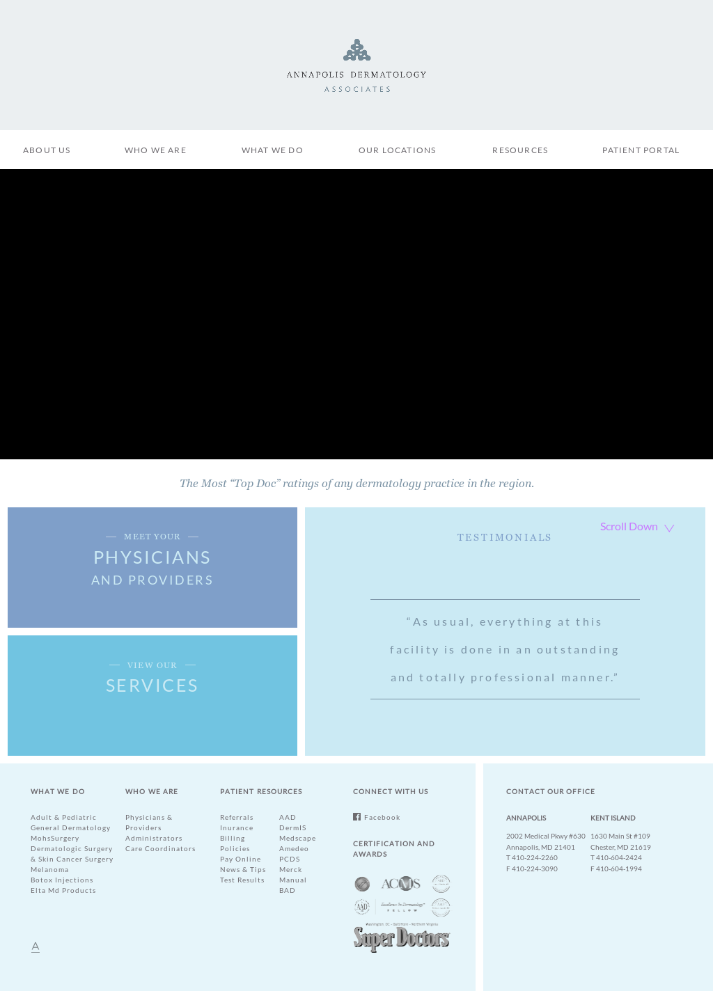 Annapolis Dermatology Associates Competitors, Revenue and