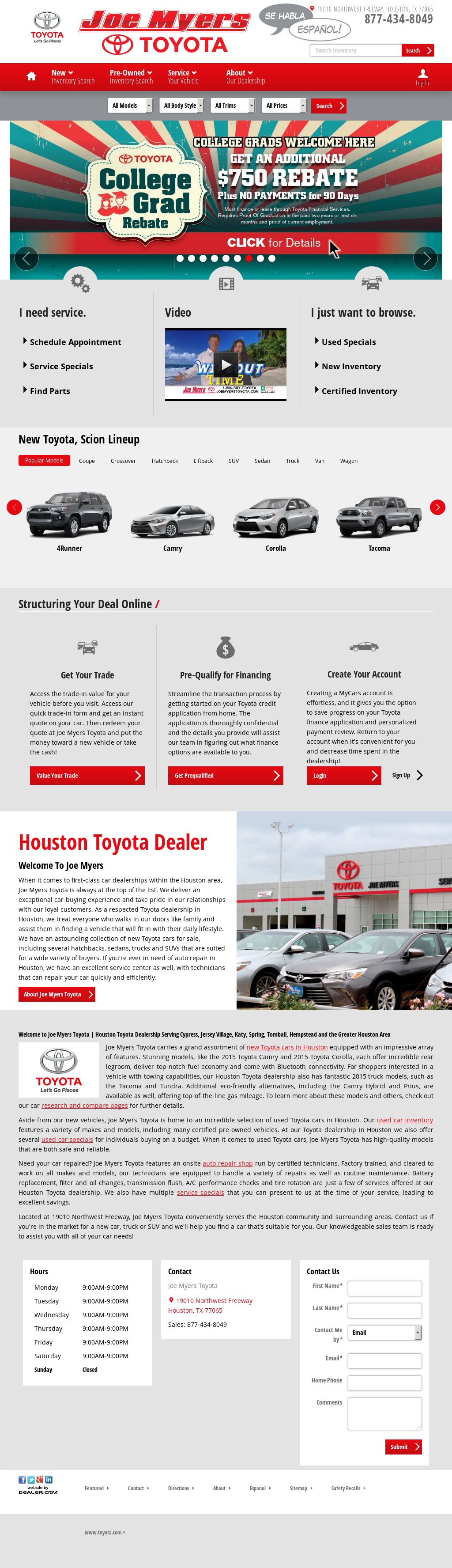 Joe Myers Toyota Competitors, Revenue And Employees   Owler Company Profile