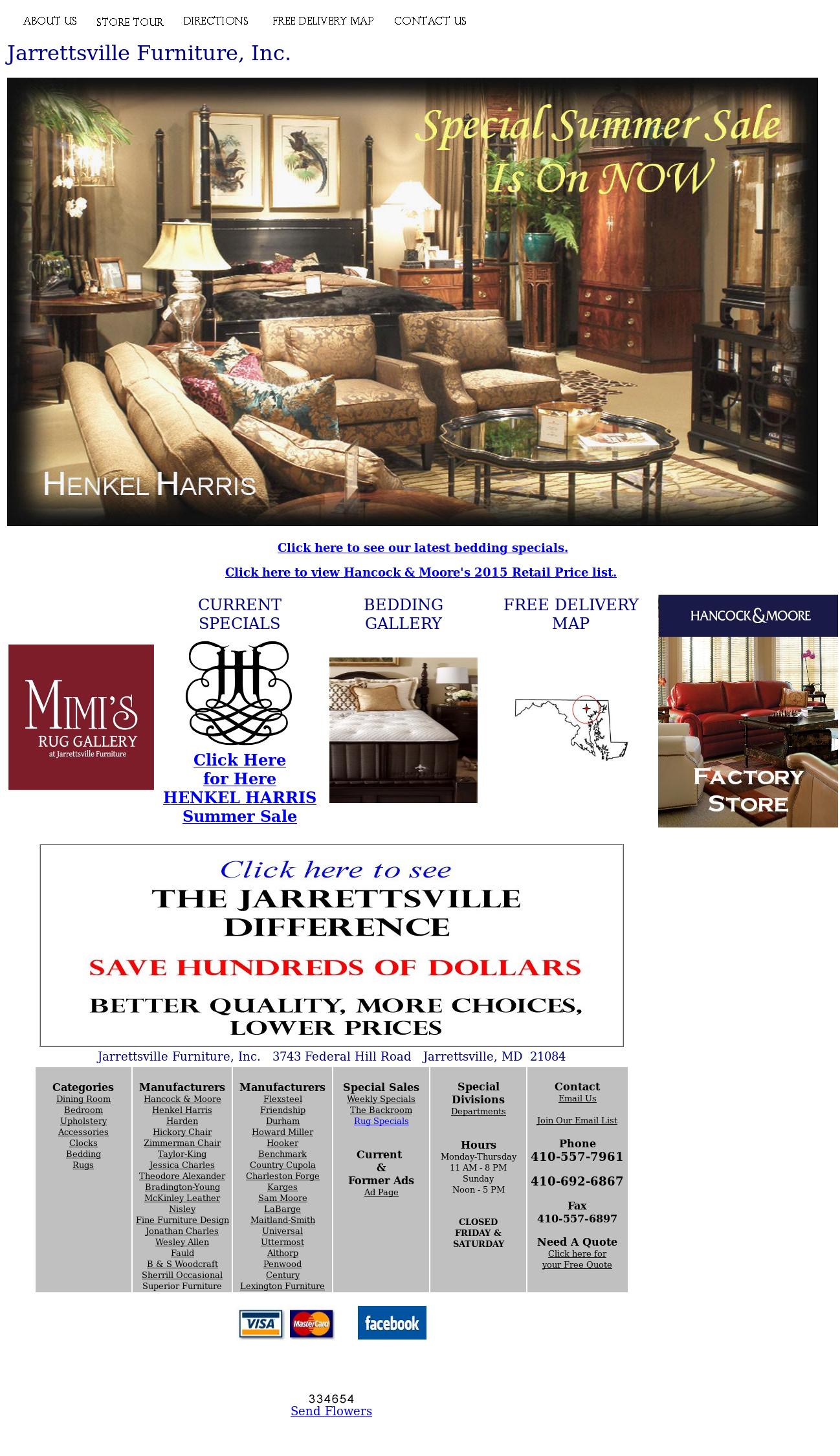 Jarrettsville Furniture Compeors
