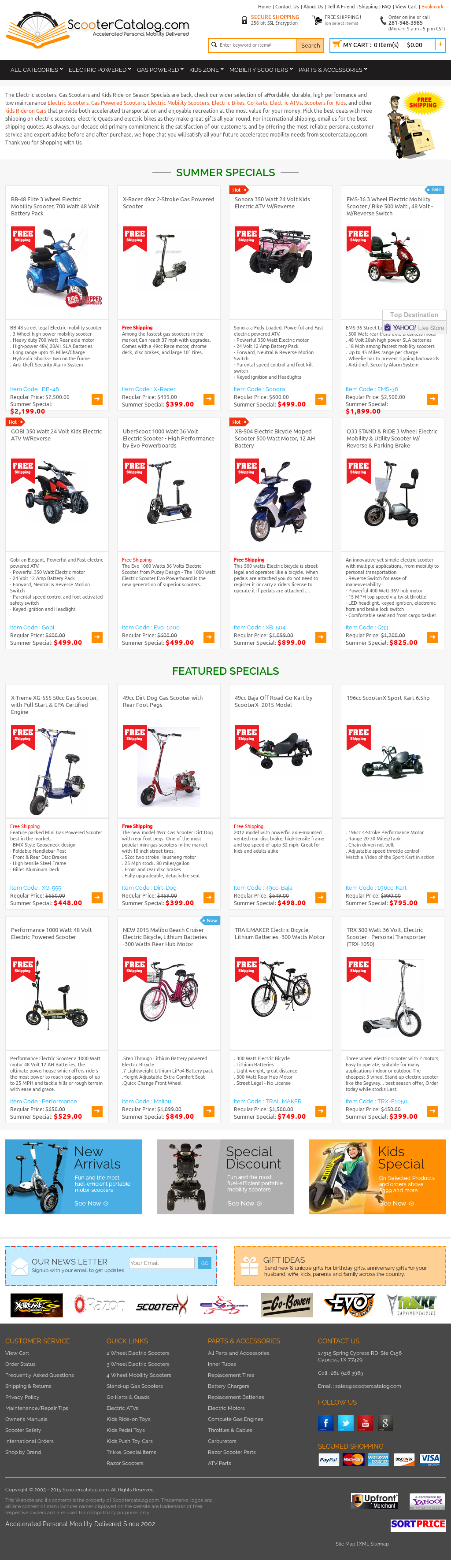 Scootercatalog Competitors Revenue And Employees Owler Company Motor Control Cypress Profile