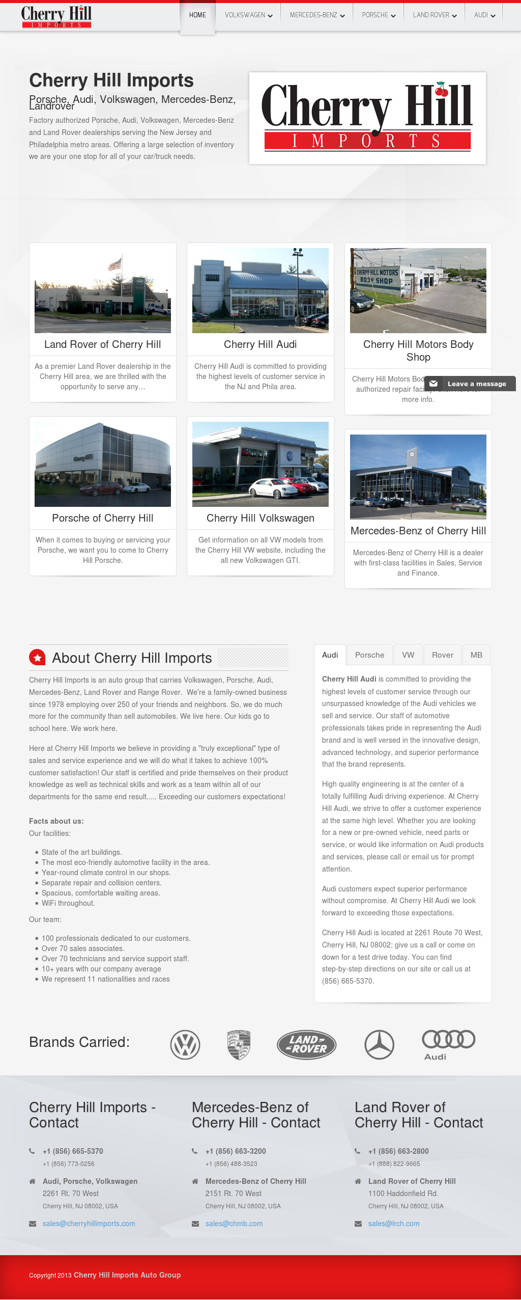 Cherry Hill Imports >> Cherry Hills Imports Competitors Revenue And Employees Owler