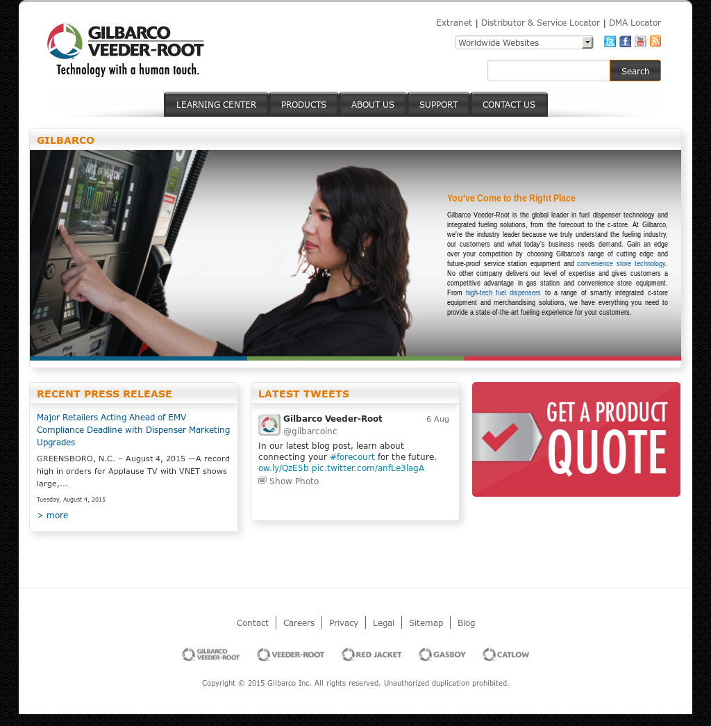 gilbarco extranet Gilbarco Competitors, Revenue and Employees - Owler Company Profile