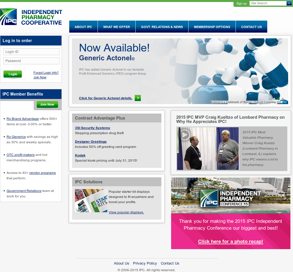 Owler Reports - Press Release: IPC : Independent Pharmacy