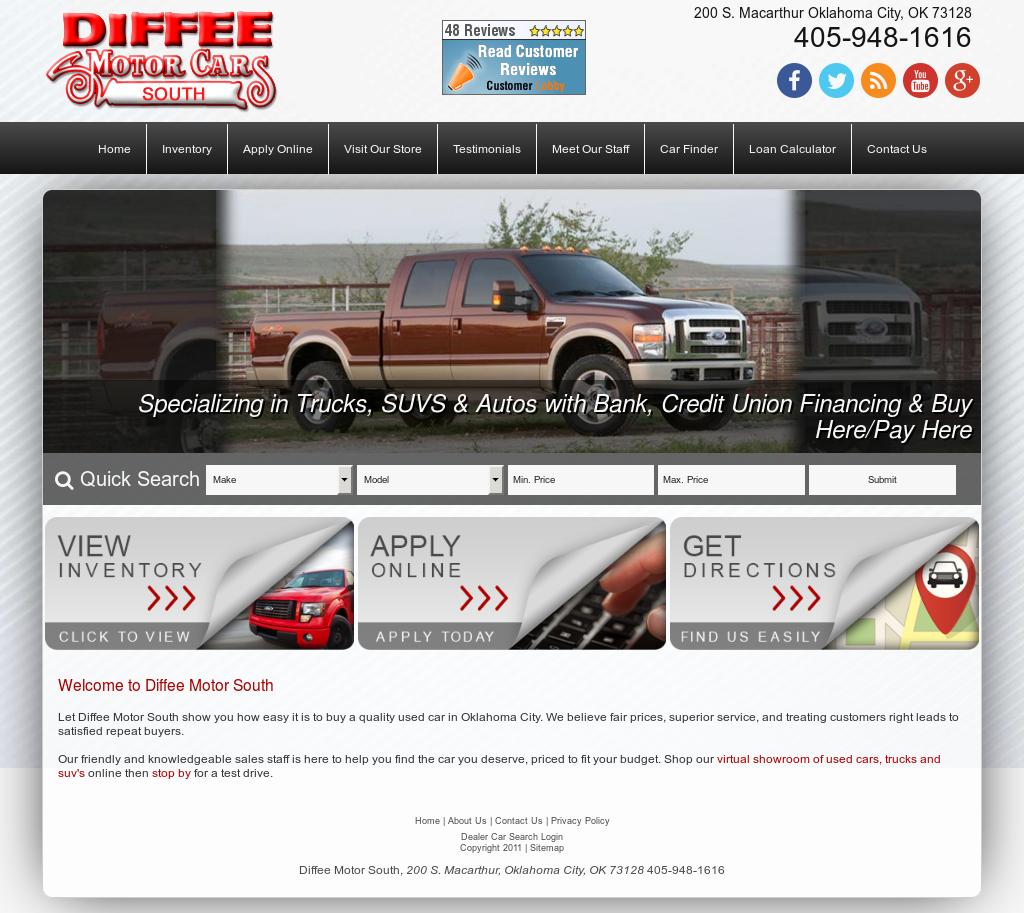 Diffee motor cars south company profile owler for Diffee motor cars south