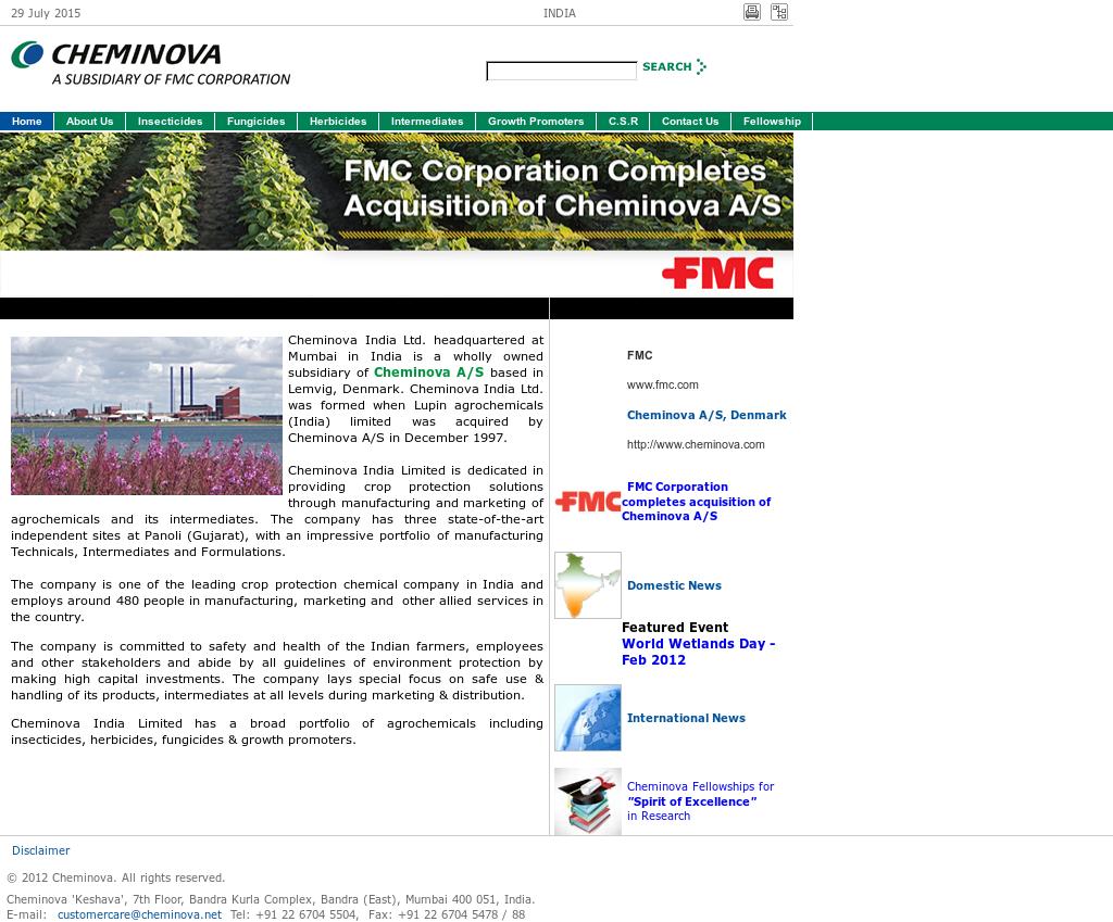 Cheminova India Competitors, Revenue and Employees - Owler