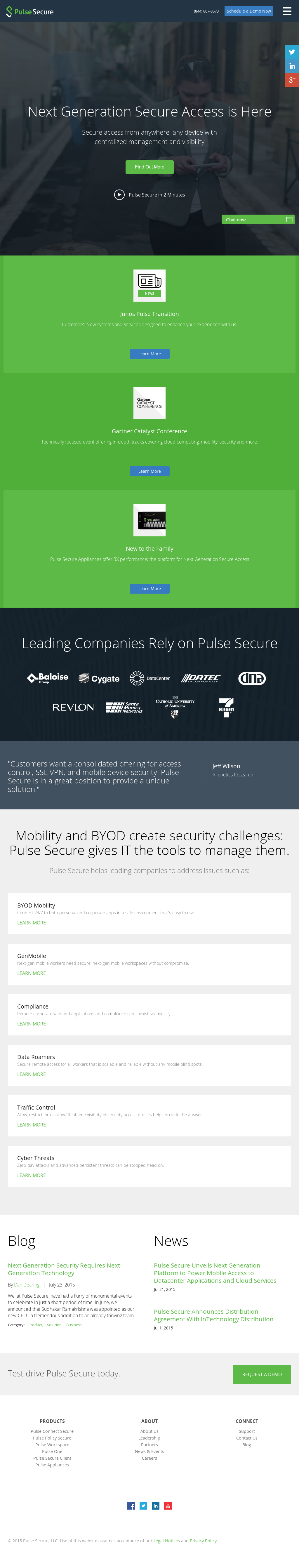 Pulse Secure Competitors, Revenue and Employees - Owler