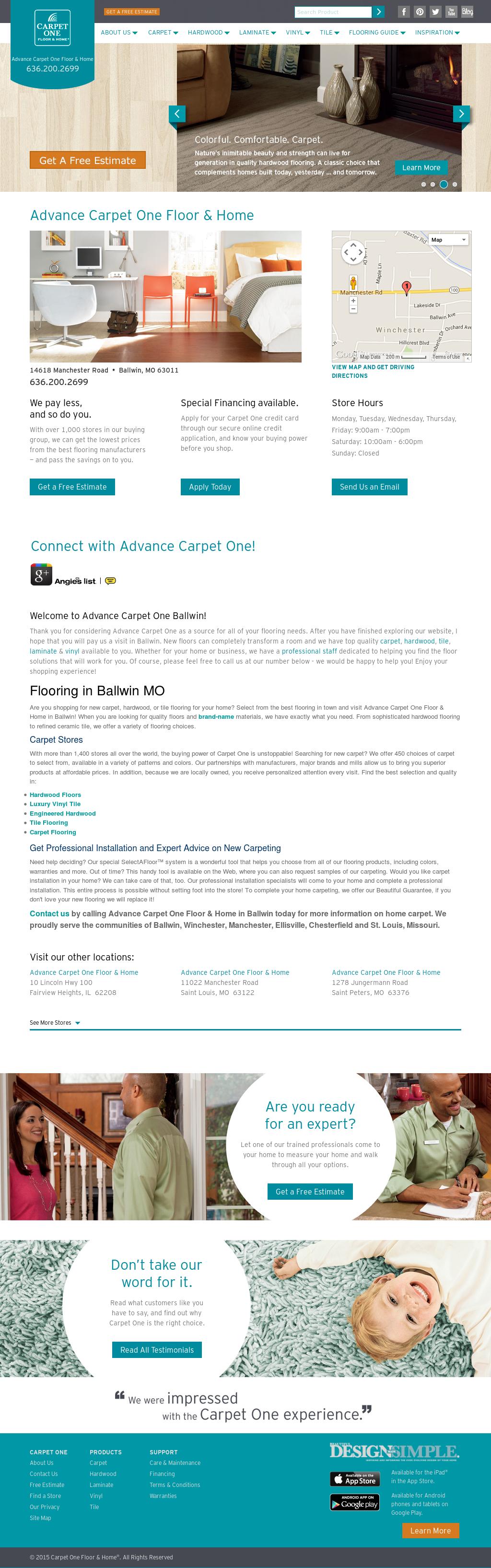 Advancecarpetoneballwin Competitors, Revenue and Employees - Owler Company Profile
