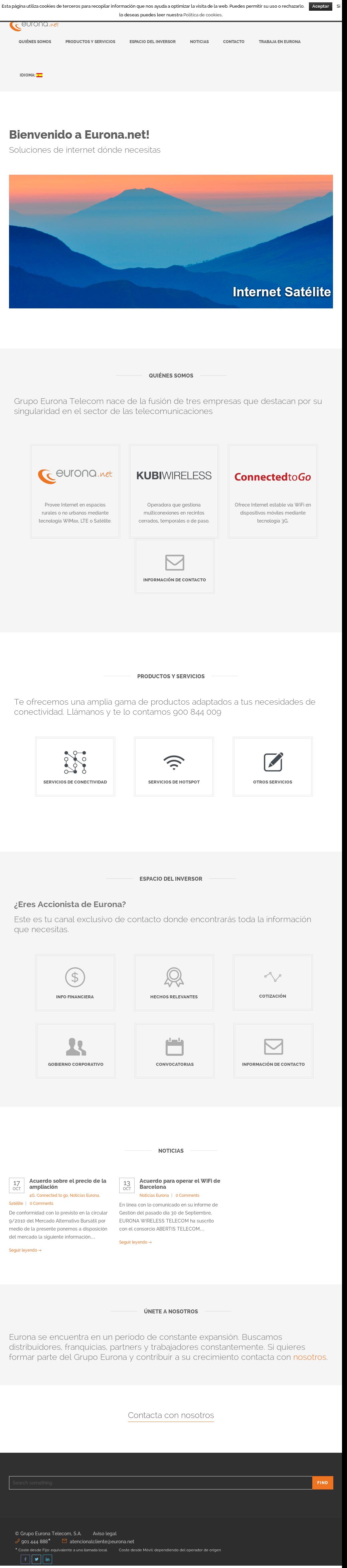 Eurona Wireless Telecom Competitors, Revenue and Employees - Owler