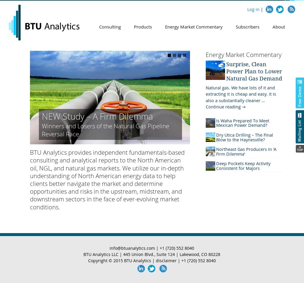 BTU Analytics Competitors, Revenue and Employees - Owler Company Profile