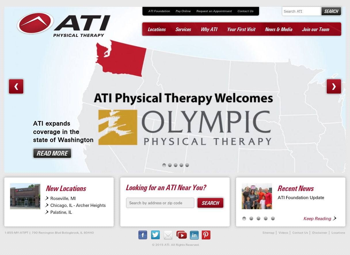 ATI Physical Therapy Competitors, Revenue and Employees