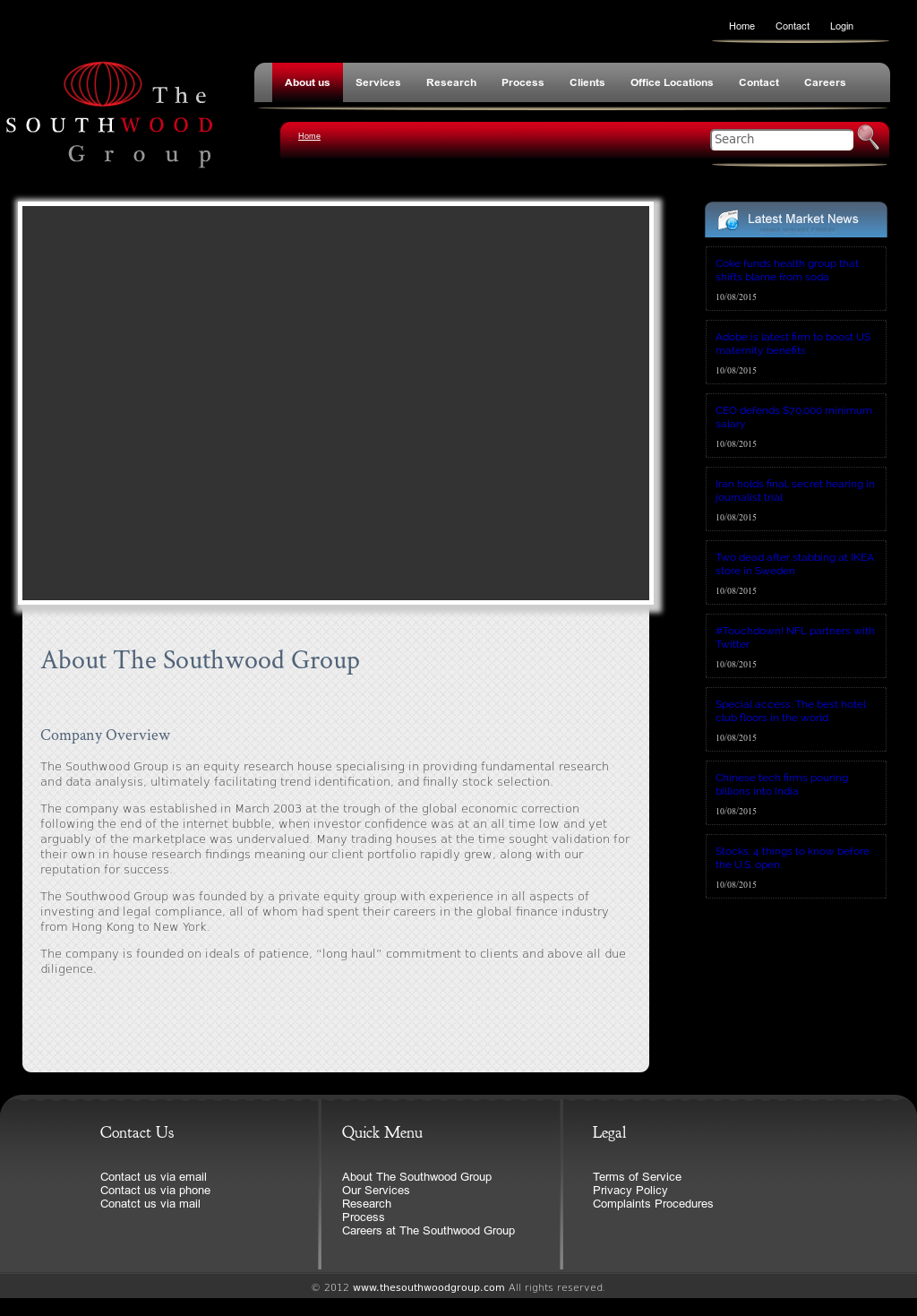 The Southwood Group Competitors, Revenue and Employees