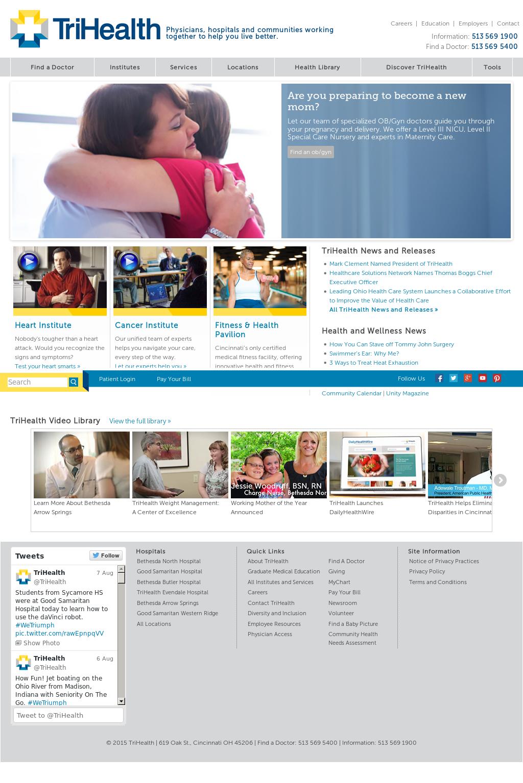 Trihealth competitors revenue and employees owler company profile