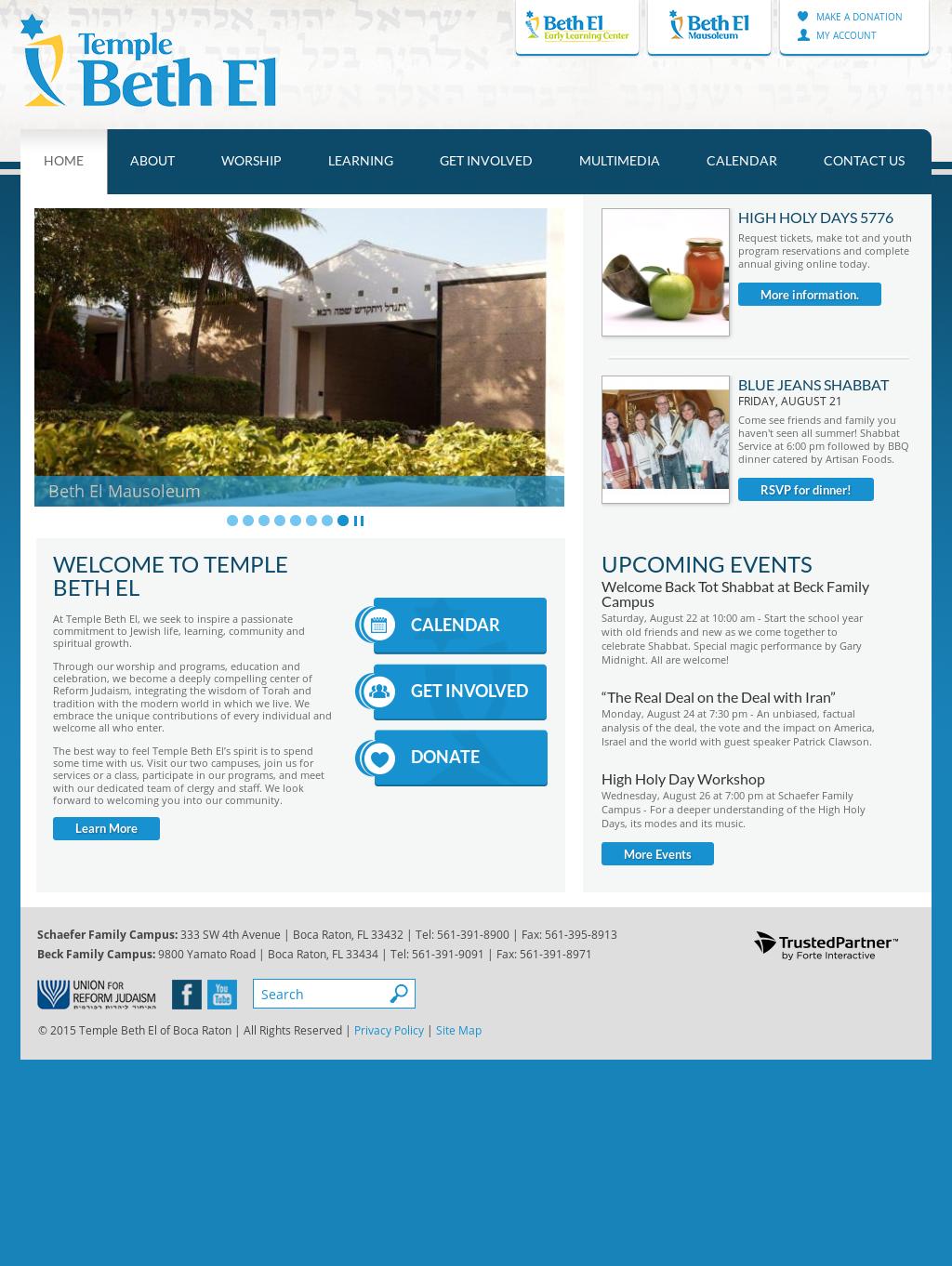 Temple Beth El Of Boca Raton Competitors, Revenue and