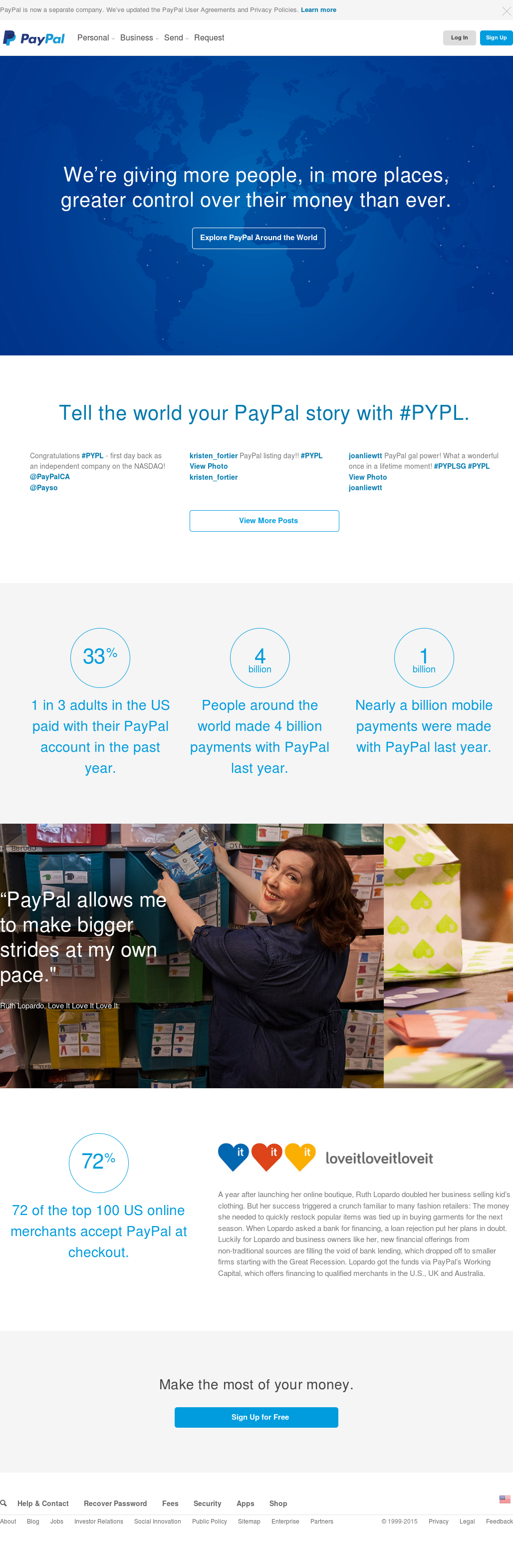 PayPal Competitors, Revenue and Employees - Owler Company Profile