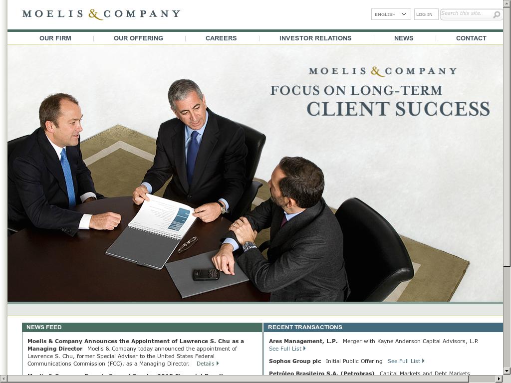 Owler Reports - Moelis & Company: Moelis & C : mpany Recognized for