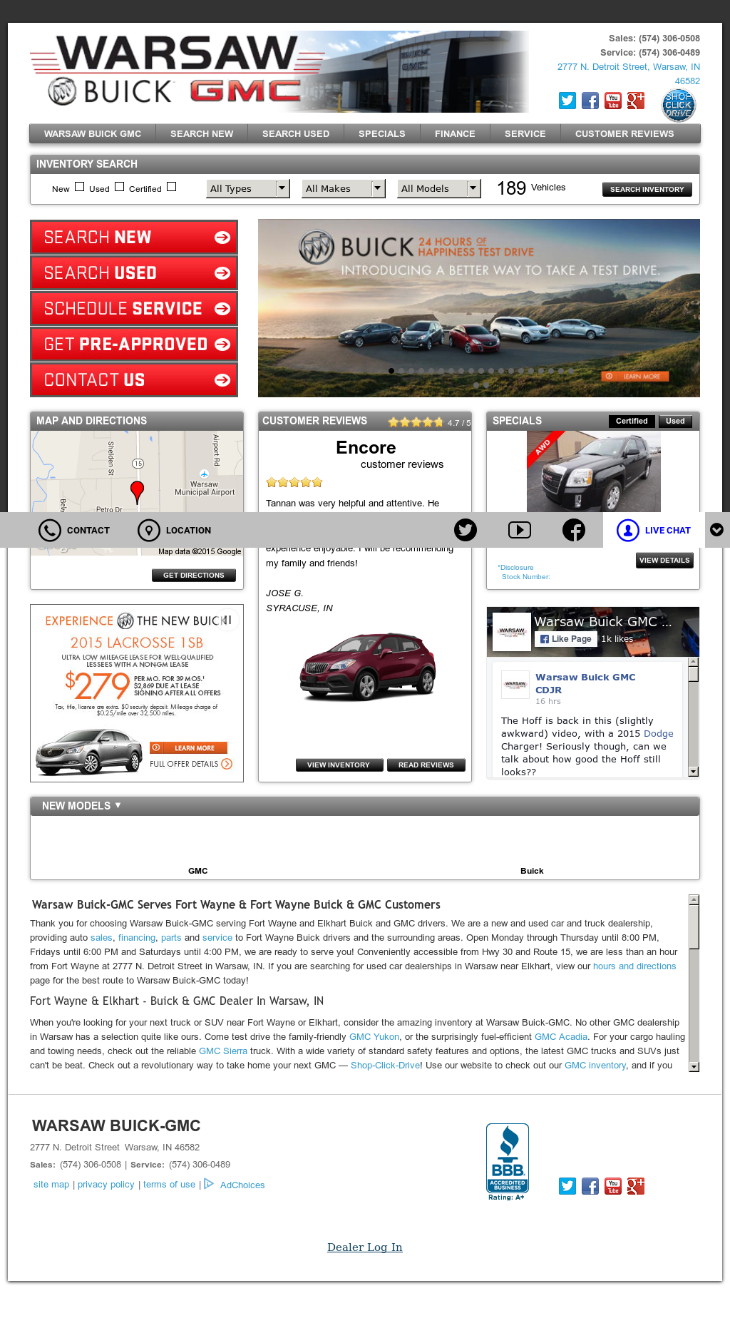 Warsaw Buick Gmc >> Warsaw Buick Gmc Competitors Revenue And Employees Owler
