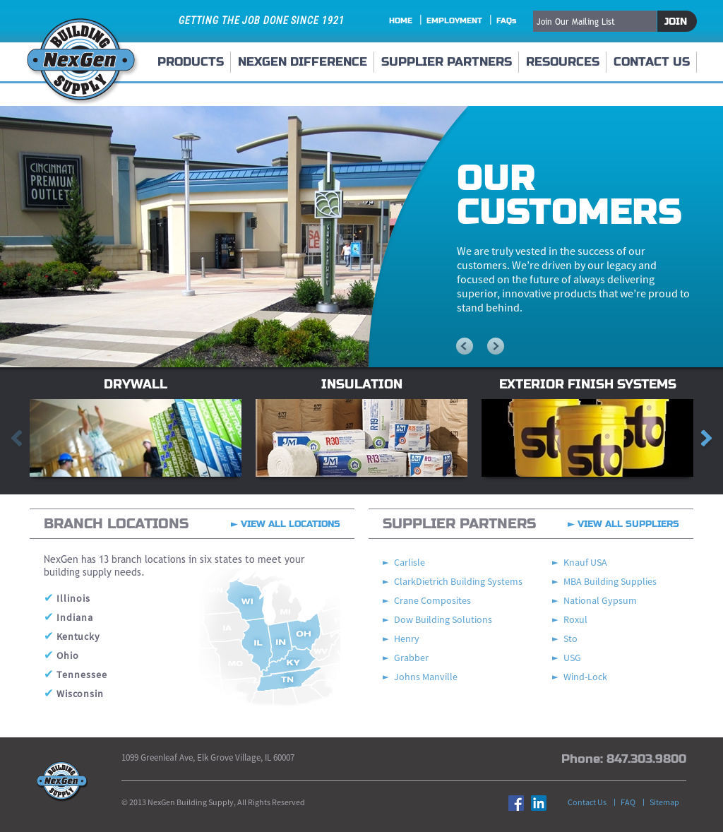 Nexgen Building Supply Competitors, Revenue and Employees